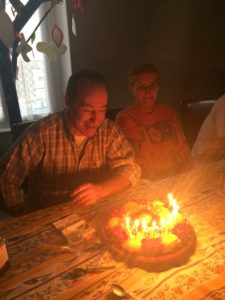 Repas d'anniversaires GEM Alès