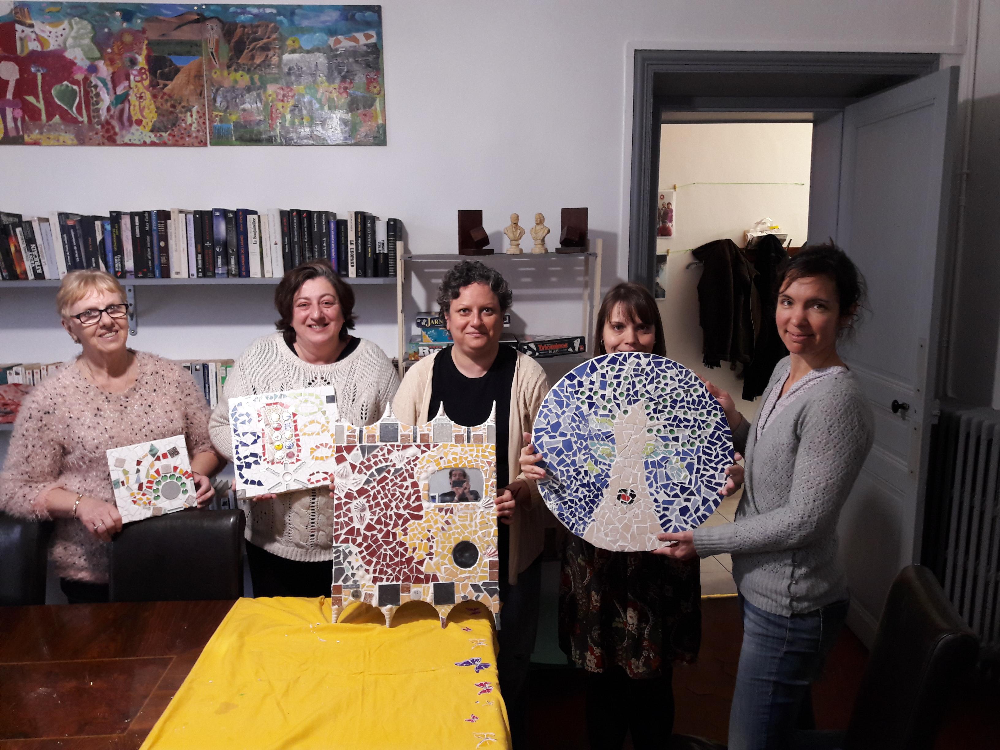 Des ateliers artistiques au GEM d'Alès